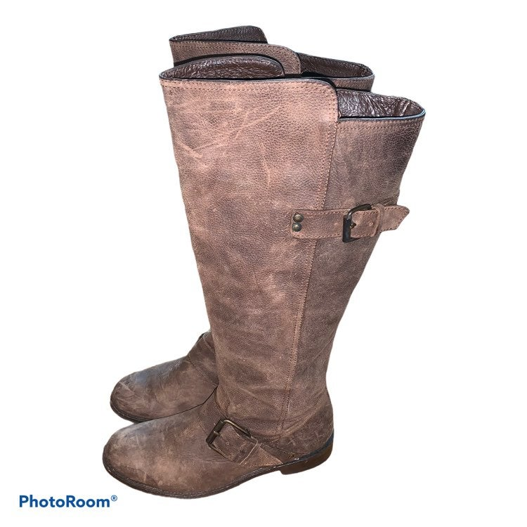 DV Dolce Vita Distressed Riding Boots