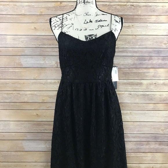NEW Cynthia Steffe Black Eyelet Dress 6