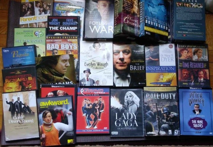 40 Individual DVD collection -Mixed