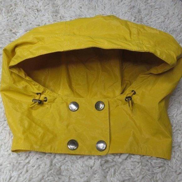Burberry yellow hood from raincoat HOOD