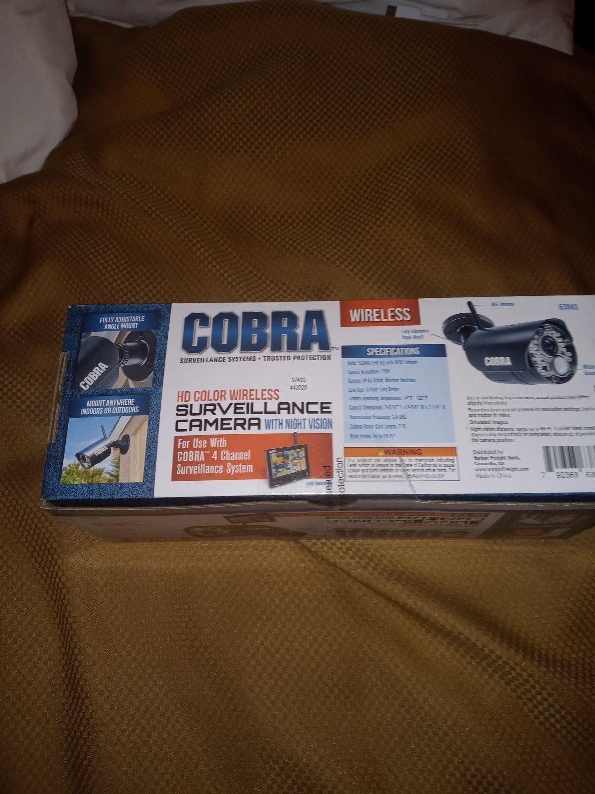 Cobra security camera