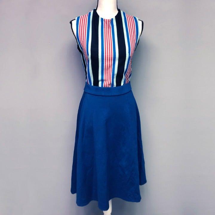 NWOT Lane Bryant Circle Skirt Teal Blue