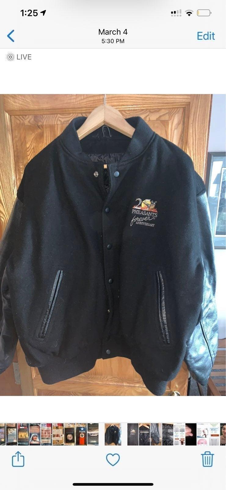 Pheasants Forever Jacket 25th Anniversar