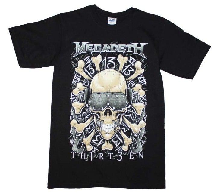 Megadeth Red Bones Regular T-Shirt