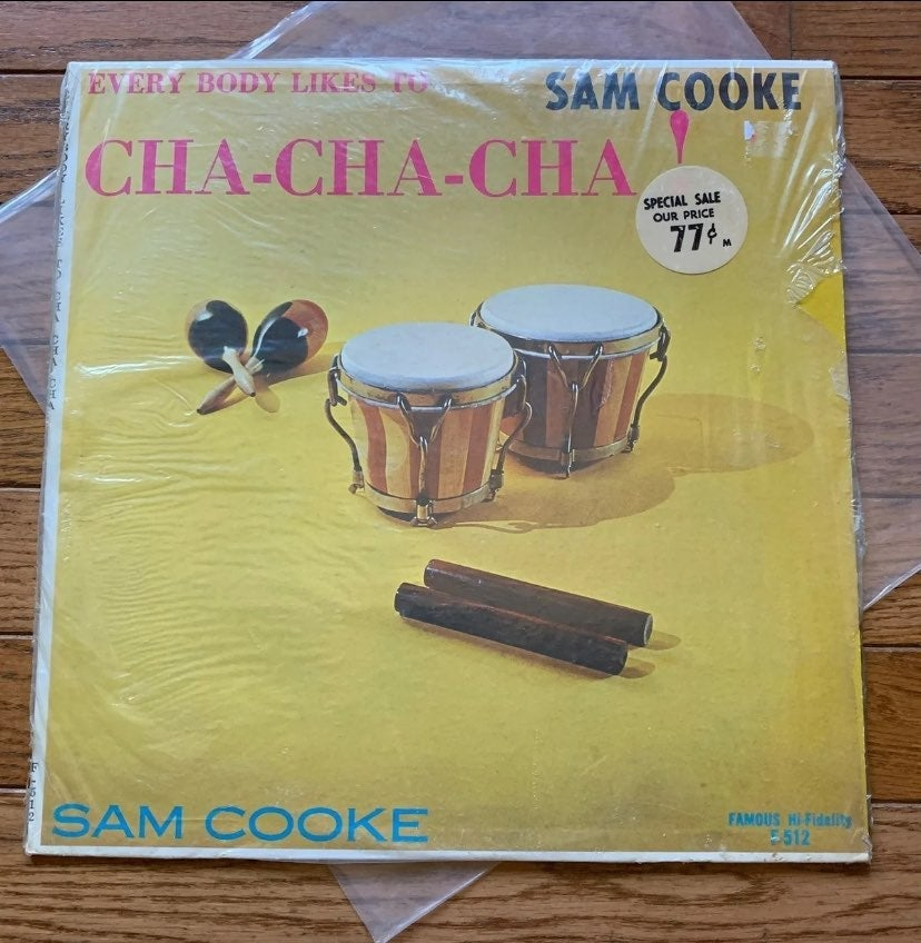 Sam Cooke Cha Cha Cha Vinyl Record LP