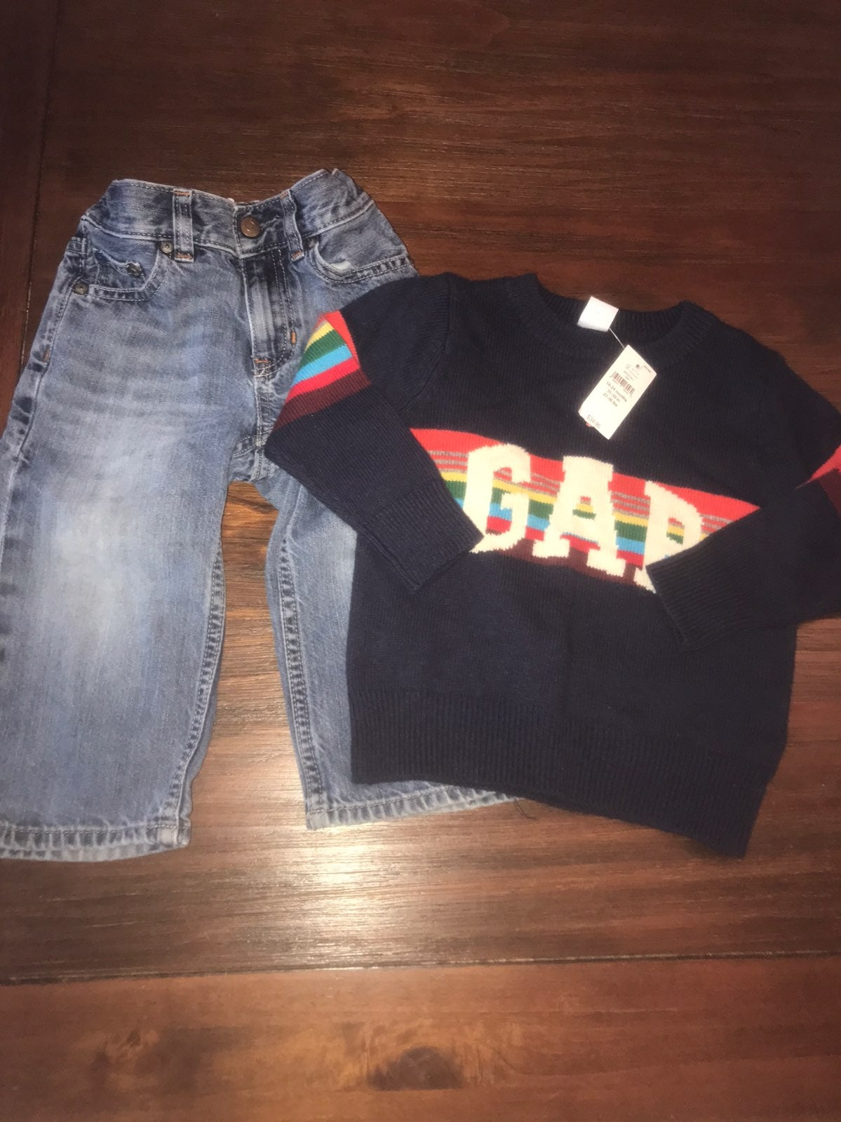 Baby gap 18-24 months jeans sweater