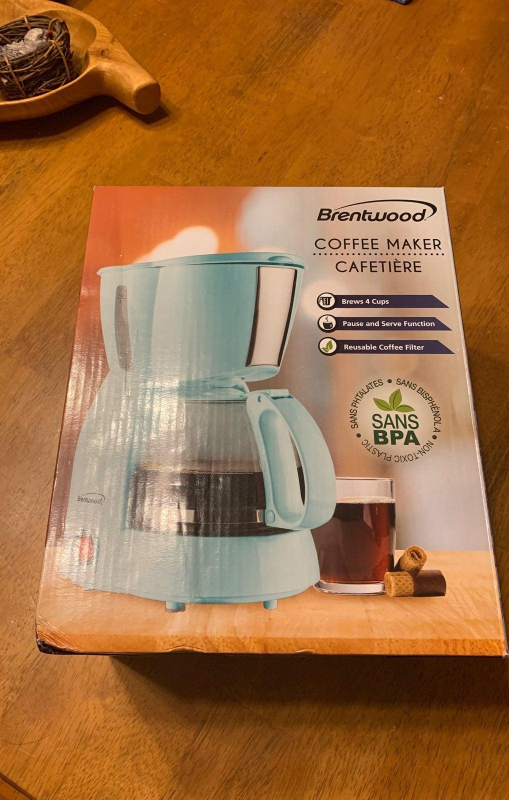 Aqua 4 cup coffee maker