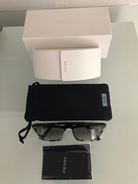 PRADA PR19US ULTRAVOX Havana Sunglasses