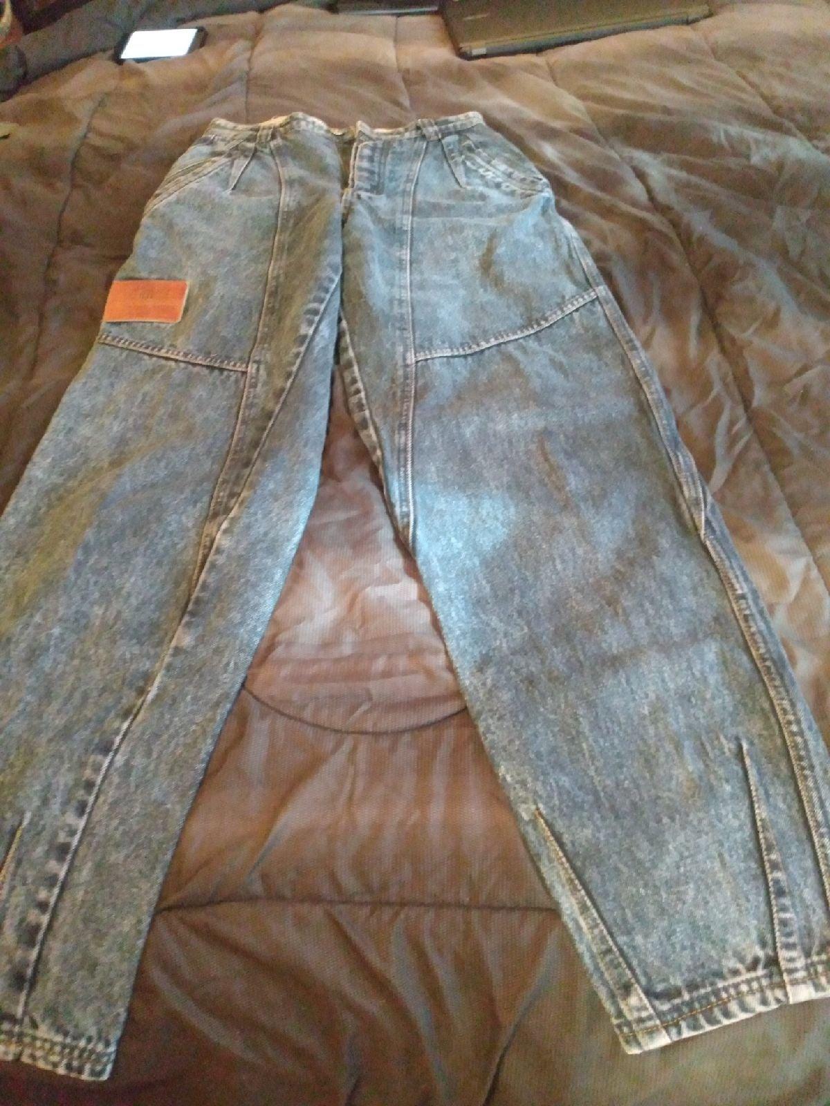 Vintage 80's Bugle Boy Acid wash Jeans