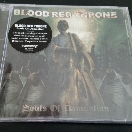 BLOOD RED THRONE death metal cd