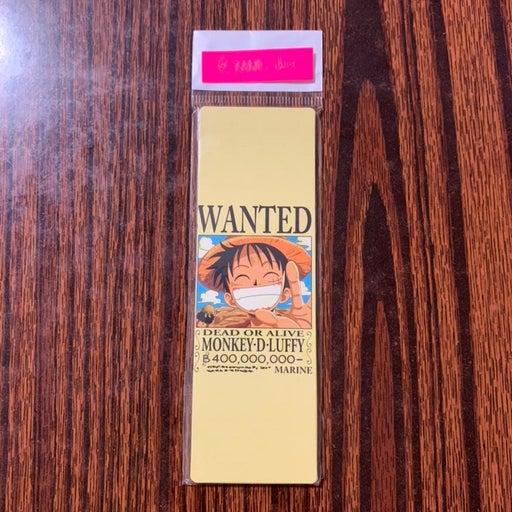 OP: Straw Hat Pirates Bounty Bookmark