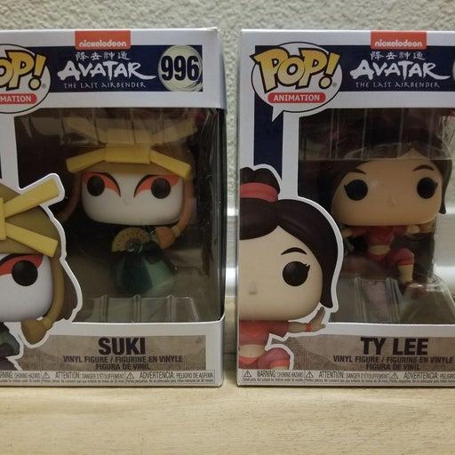 Avatar Funko Pop! Ty Lee & Suki NEW