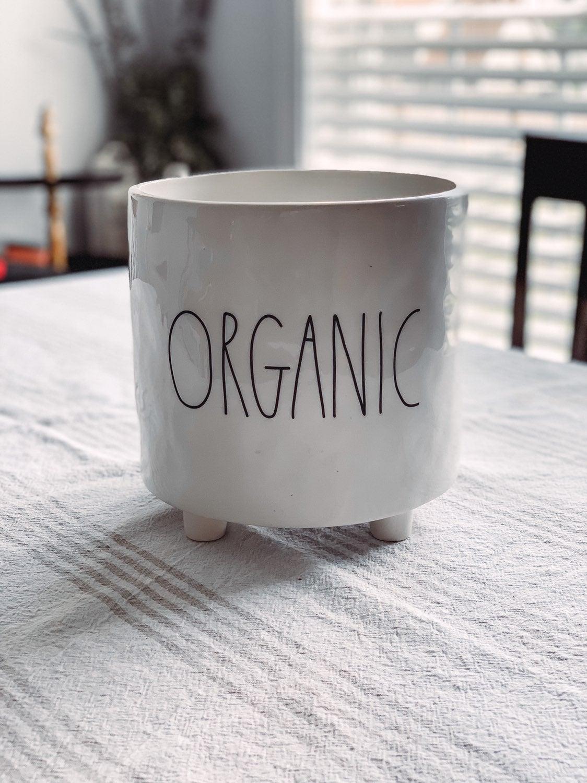 Rae Dunn Organic Planter
