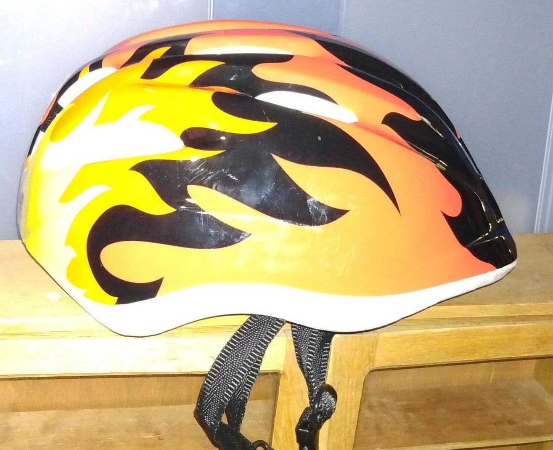 Kid's Flame Bike Helmet