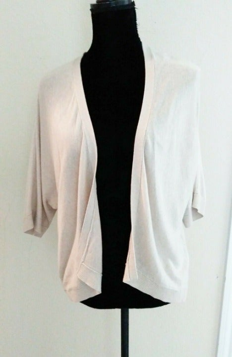 A New Day Beige Cardigan Soft Cropped