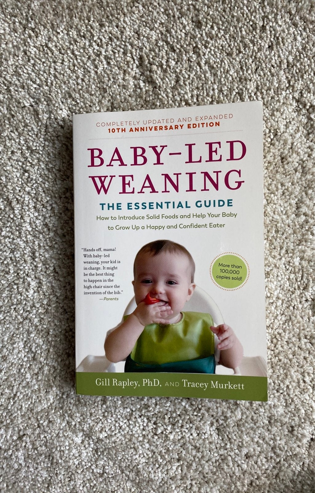 Baby Led Weaning Essential guide