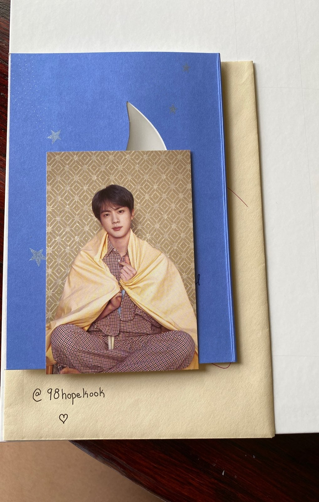 Kim Seokjin Persona Post Card