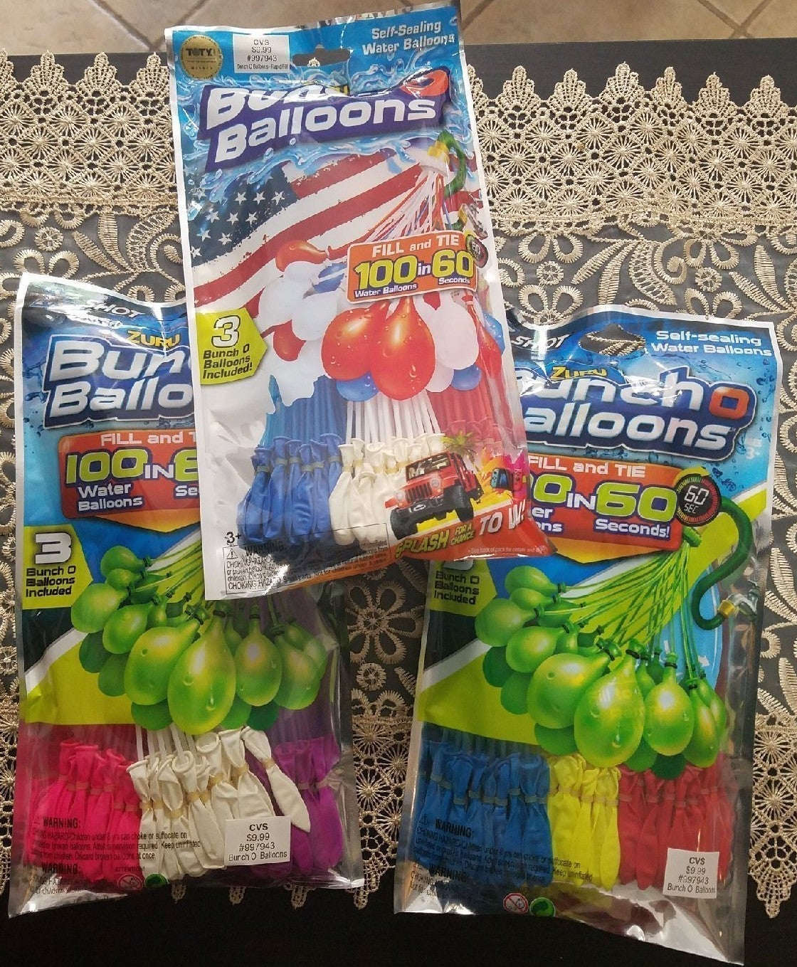 4th of July Bunch O Balloons Water Ballo