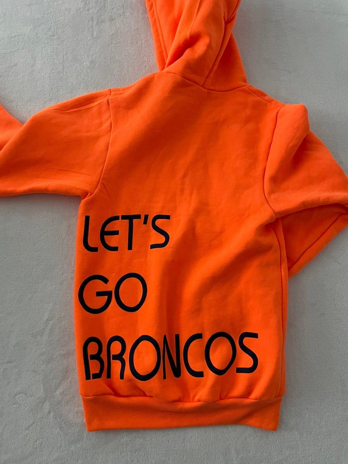 Denver Broncos Zip Up Hoodie