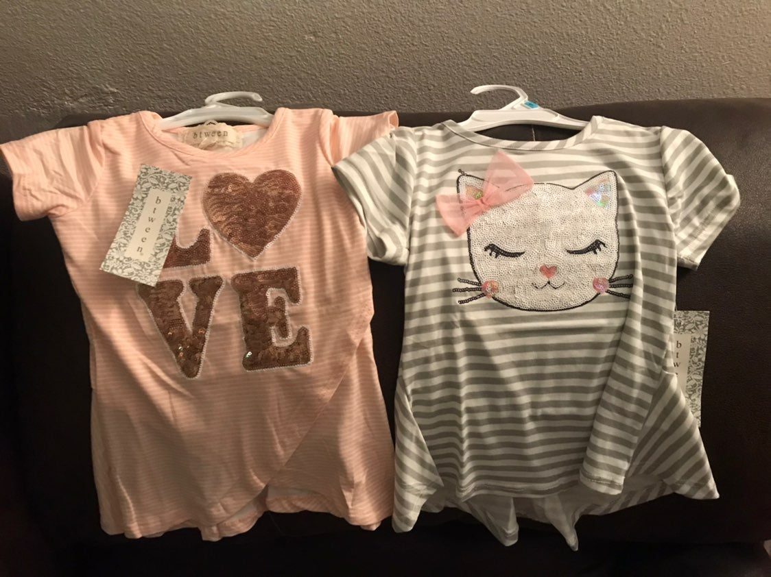 Toddler shirts & ck reserved for Jessica