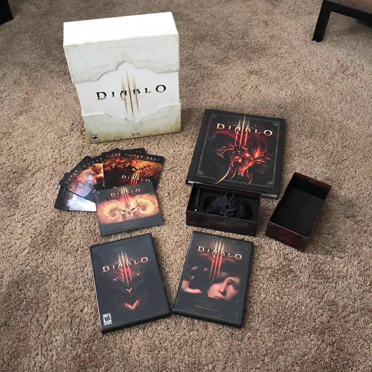 Diablo 3 PC Collectors Editin Box Set