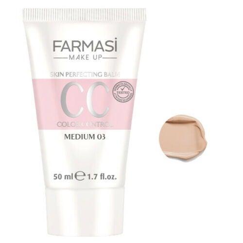 FARMASI CC Cream Foundation-Medium