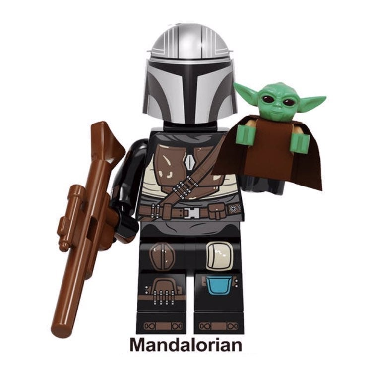 "Baby Yoda ""The Child"" & Mandalorian LEGO"