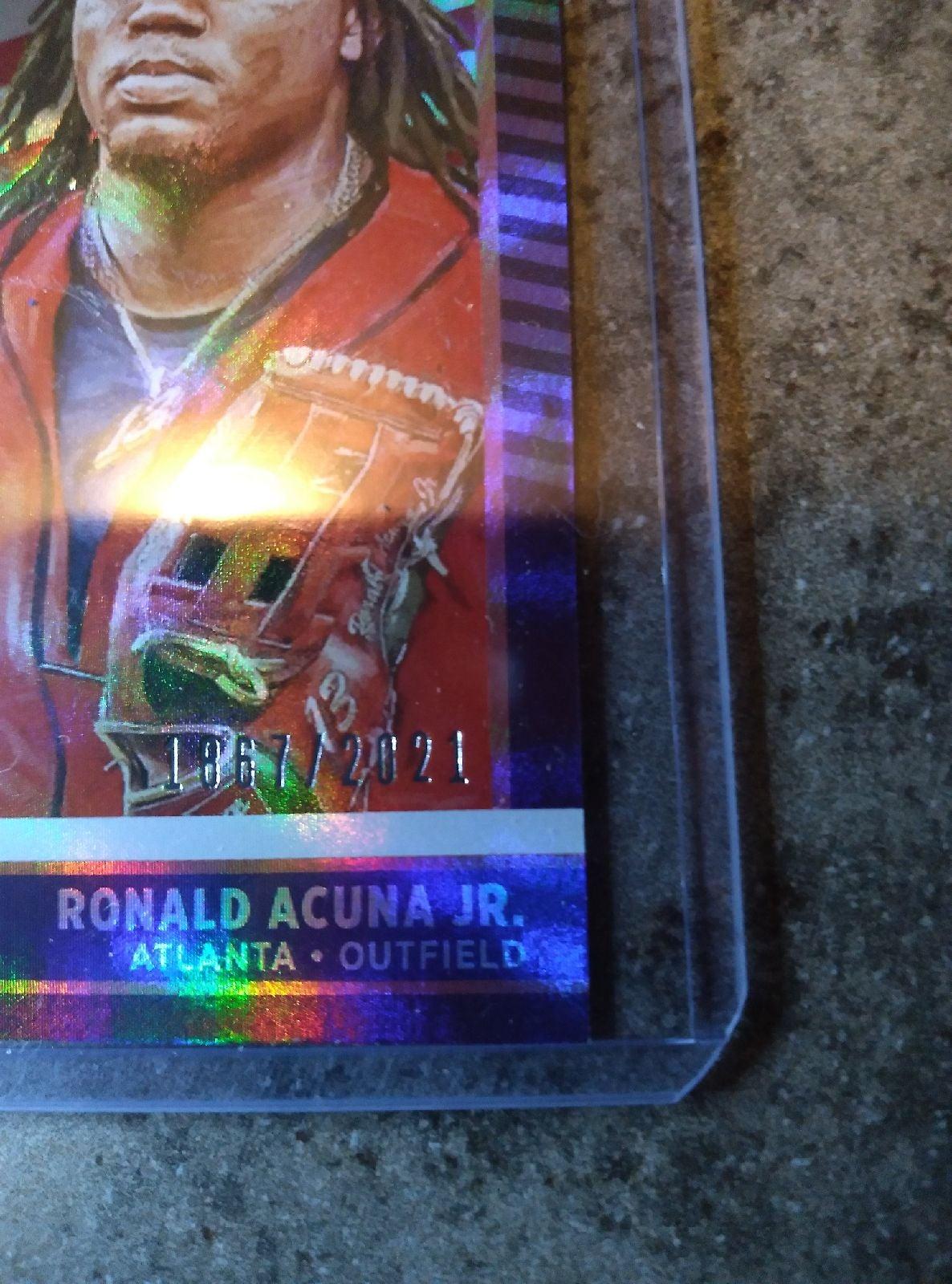 2021 donruss Ronald Acuna jr. #1867