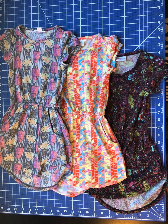 Lularoe Mae Size 2 lot (3) dresses
