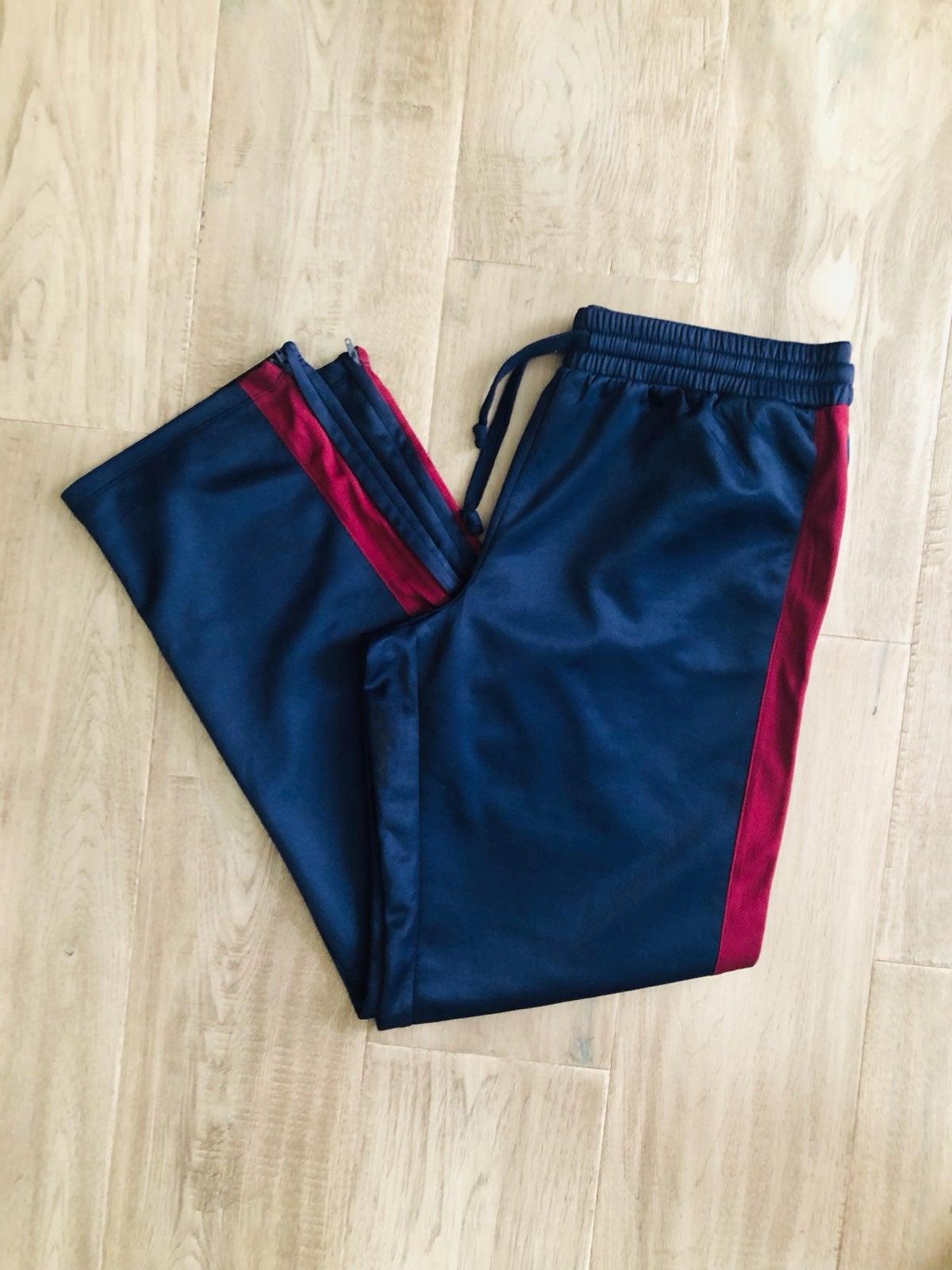 Women's navy blue active pants size Larg