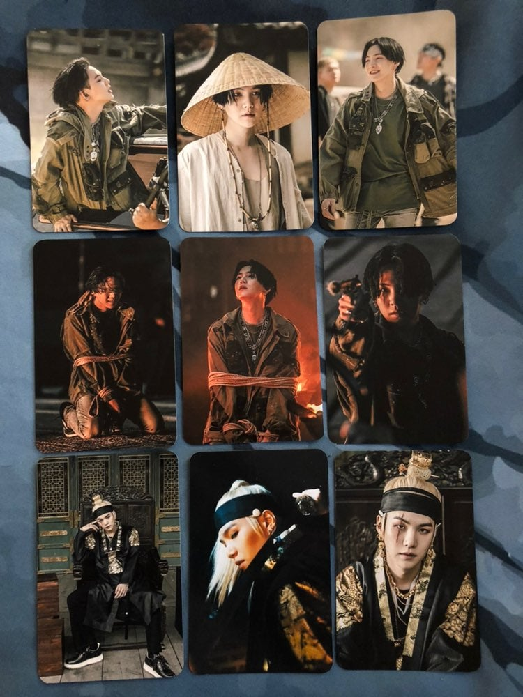 BTS Photocards - Agust D-2
