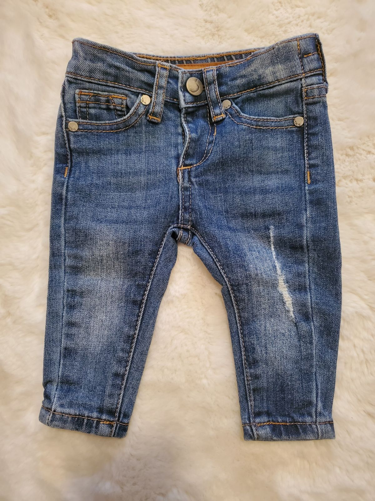 Joes baby jeans 0-3 month distressed ski
