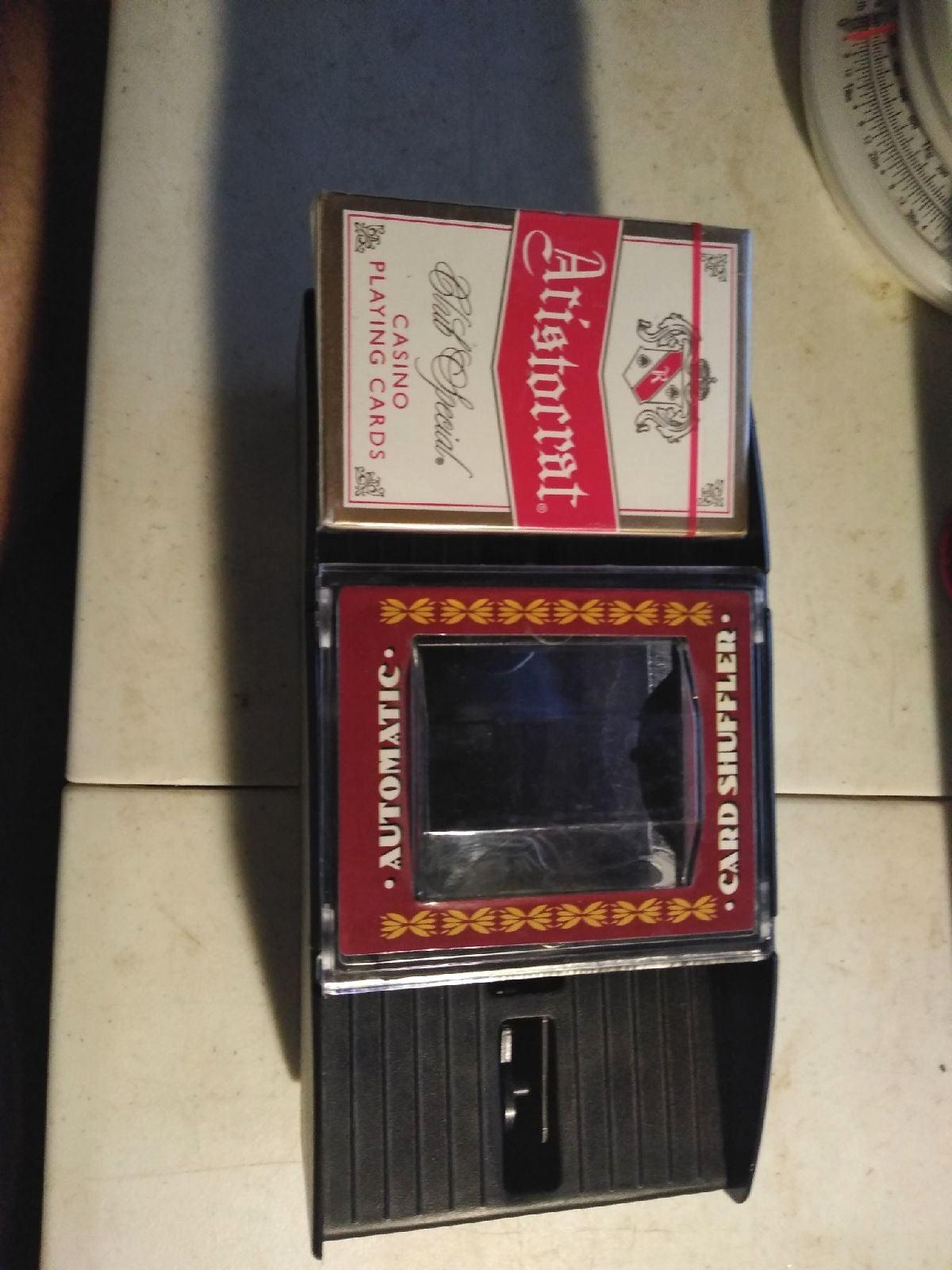 Cardinal card shuffler  Brand new unopen