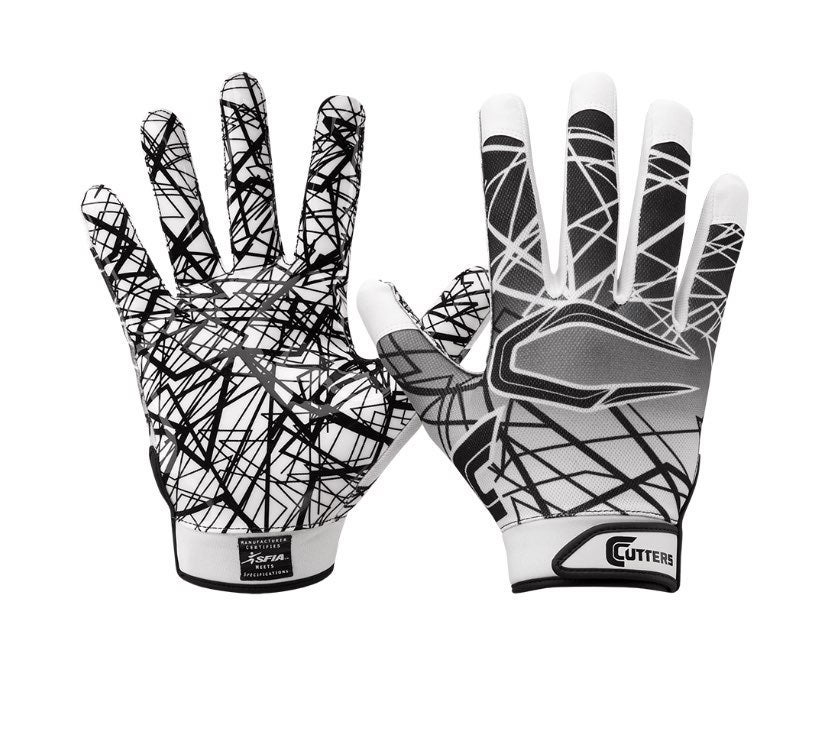 ADULT LARGE RECEIVER FOOTBALL Gloves