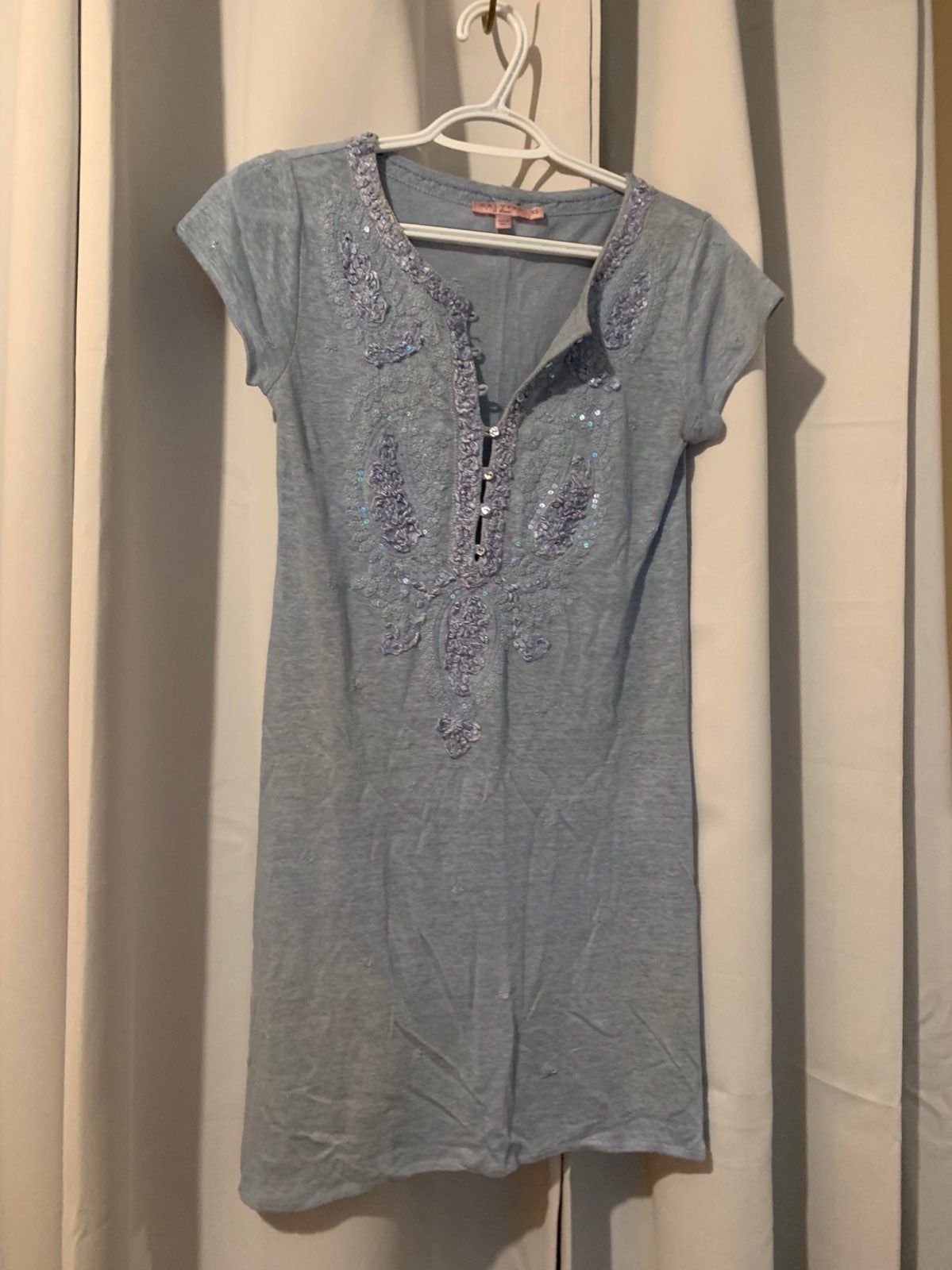 Calypso St Barth Linen Dress Size XS