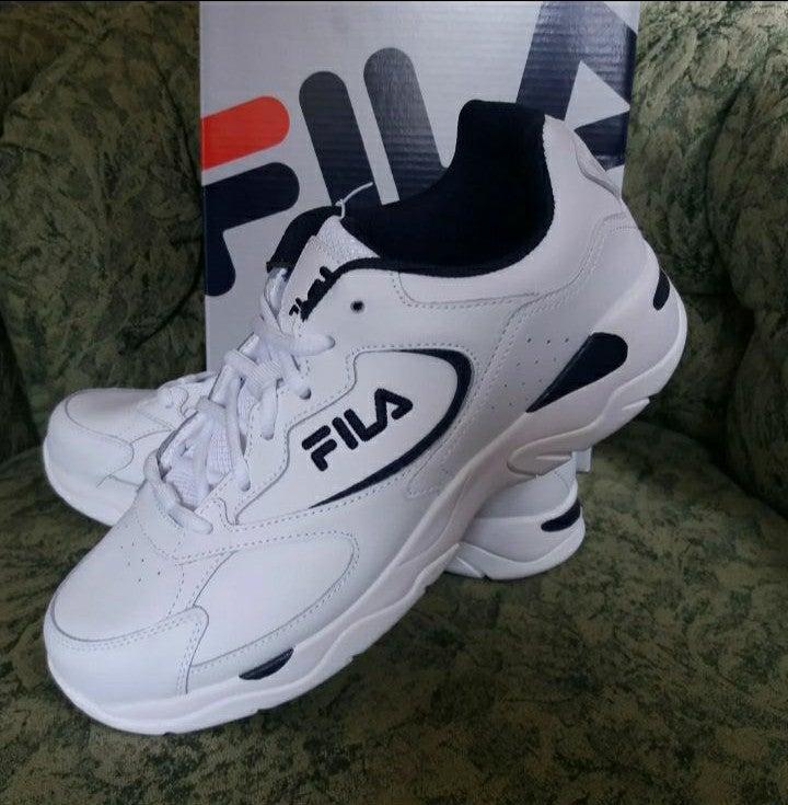 Fila Men's Leather Tre Runner Shoe 10