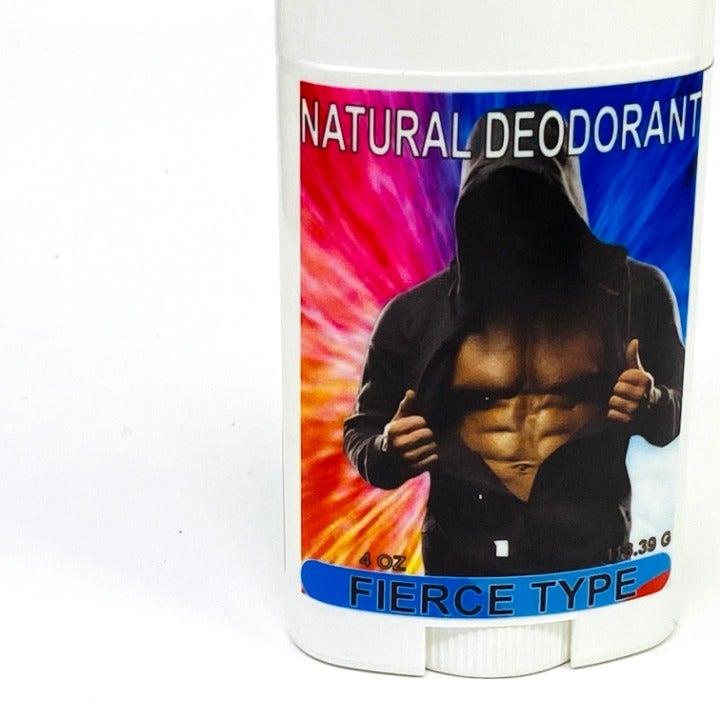 Natural deodorant Fierce type scent 4 oz