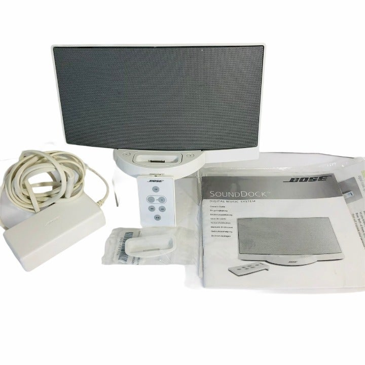 White Bose SoundDock Digital Music Syste