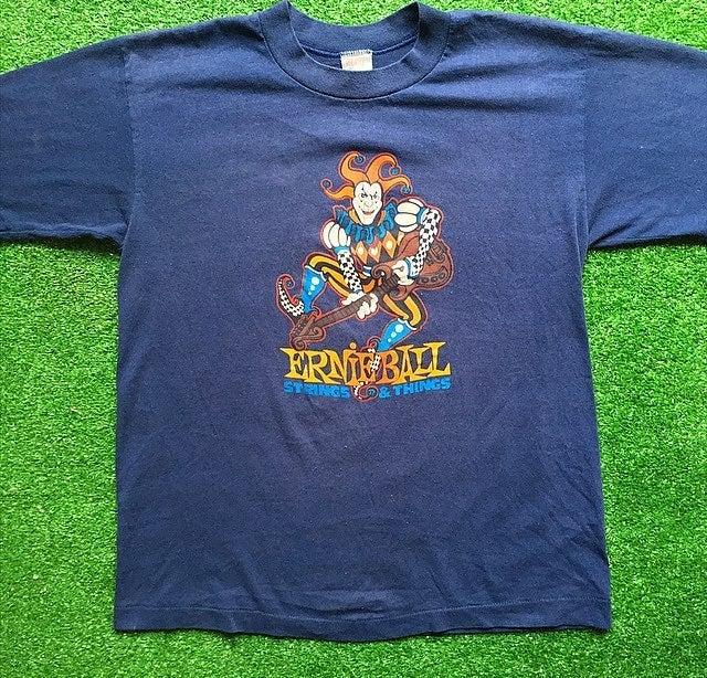 80s Ernie Ball Guitar Vintage T Shirt