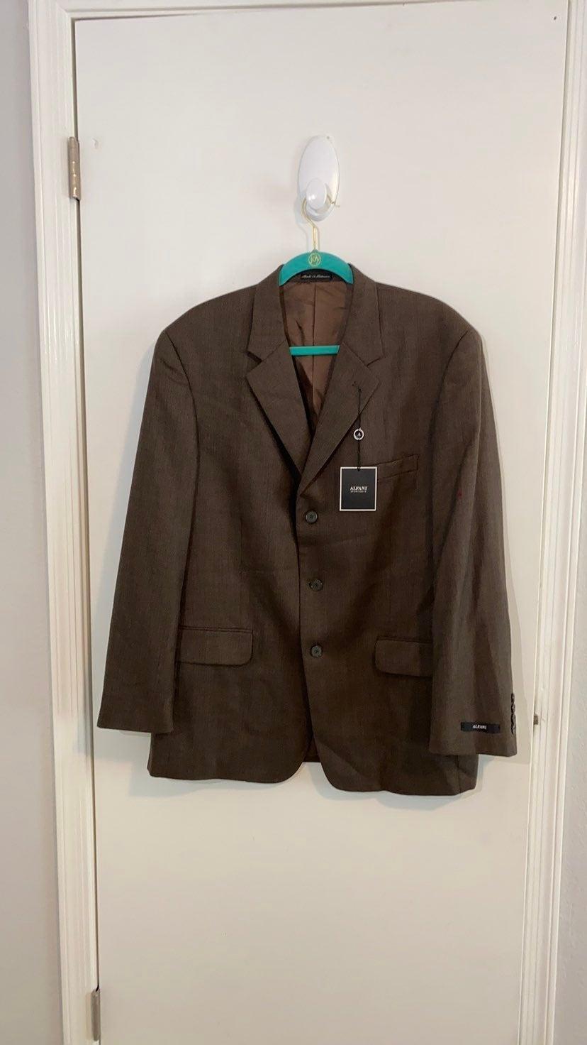 NWT Men's Alfani lined blazer 42R