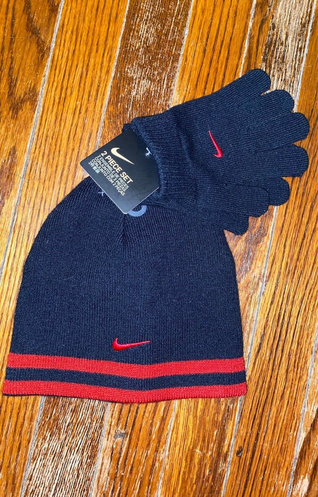 Boys Nike Hat and Gloves