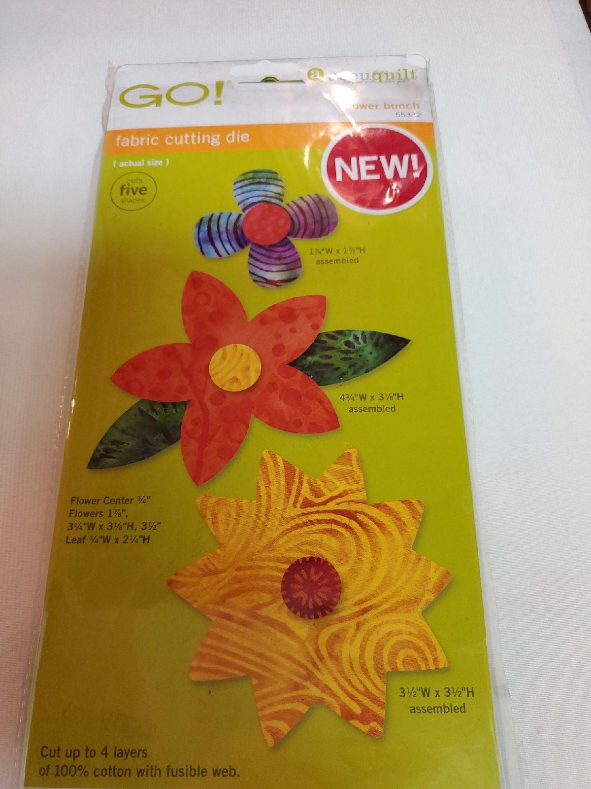 accuquilt GO! Flower bunch