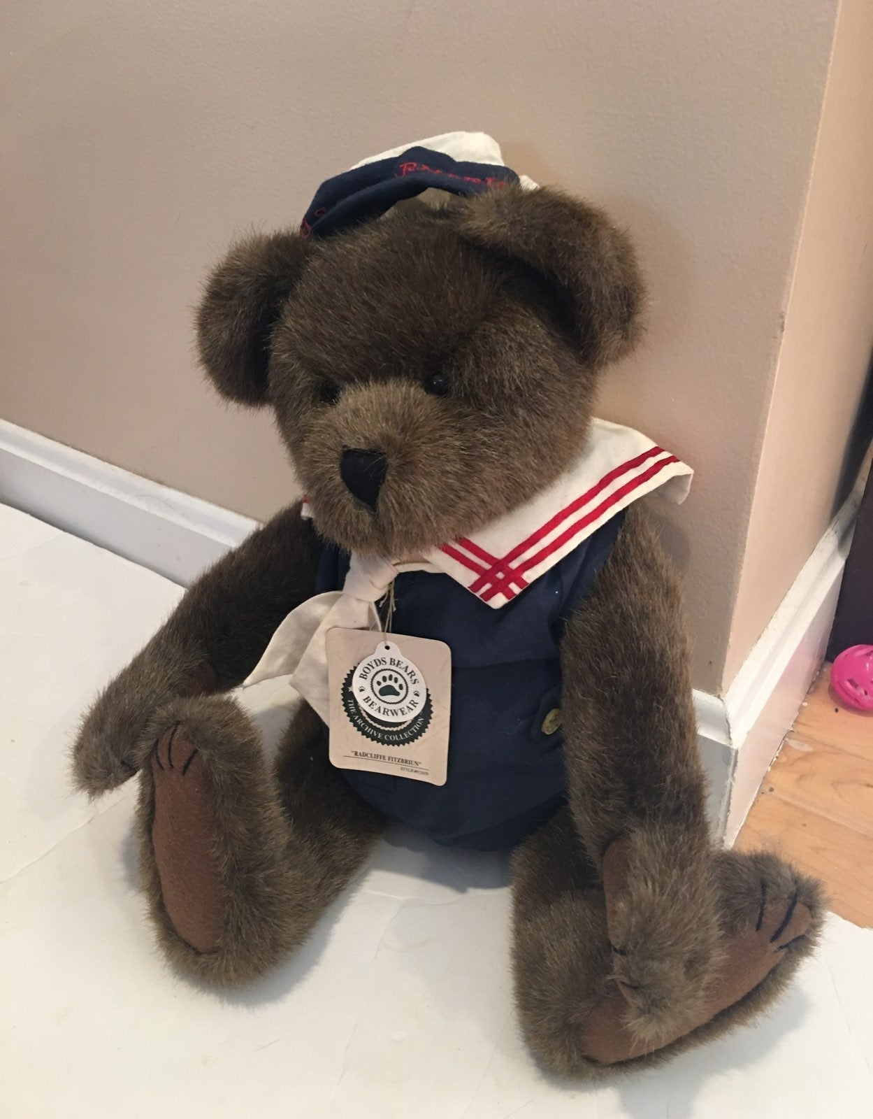Boyds bear Radcliff Fitzbruin 16in