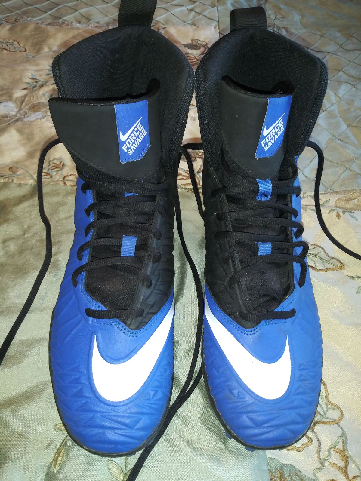 Nike Force Savage Football Cleats