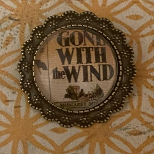 Gone with the wind brooch