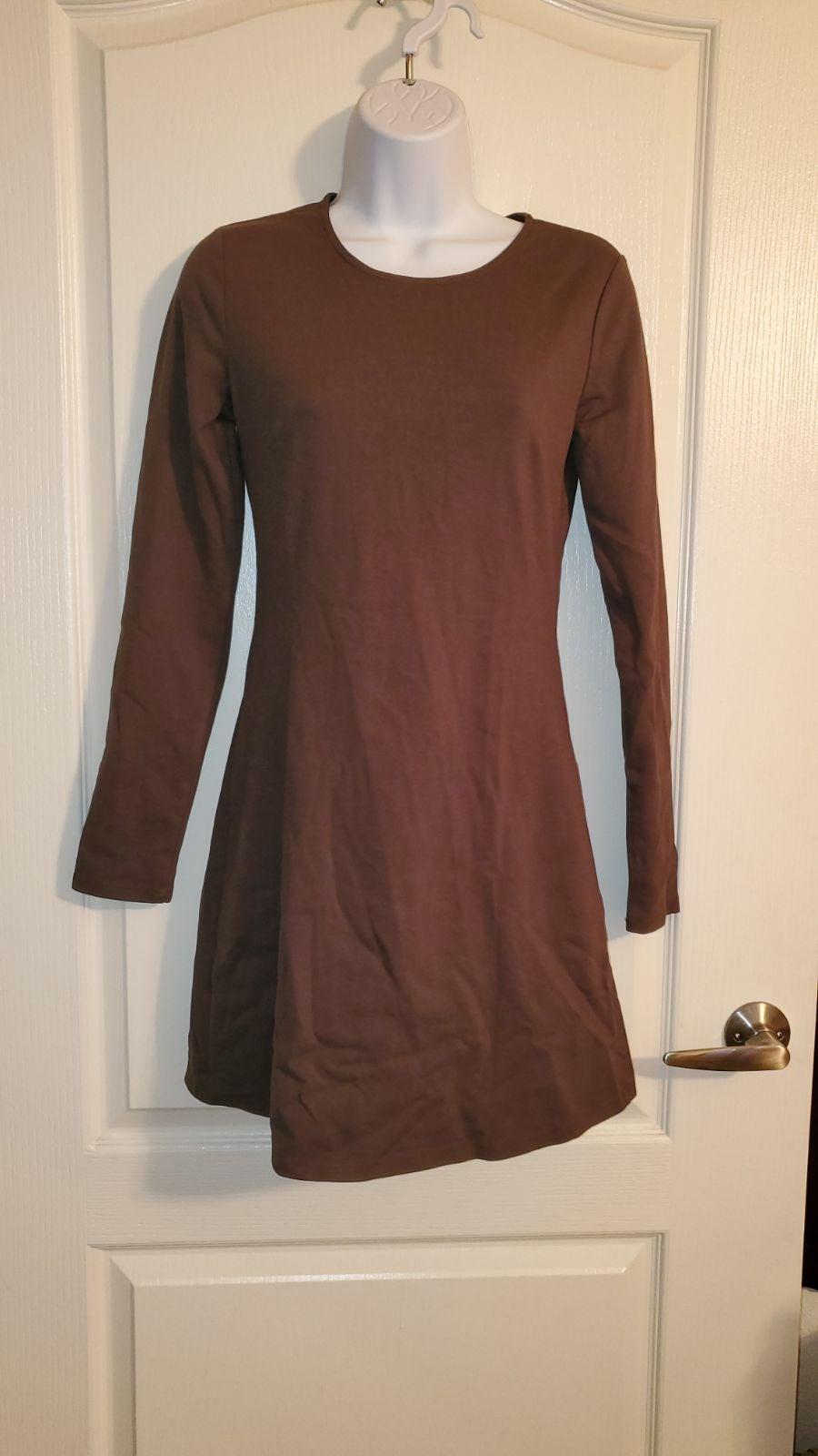 Silence + Noise ling sleeve dress sz Sma