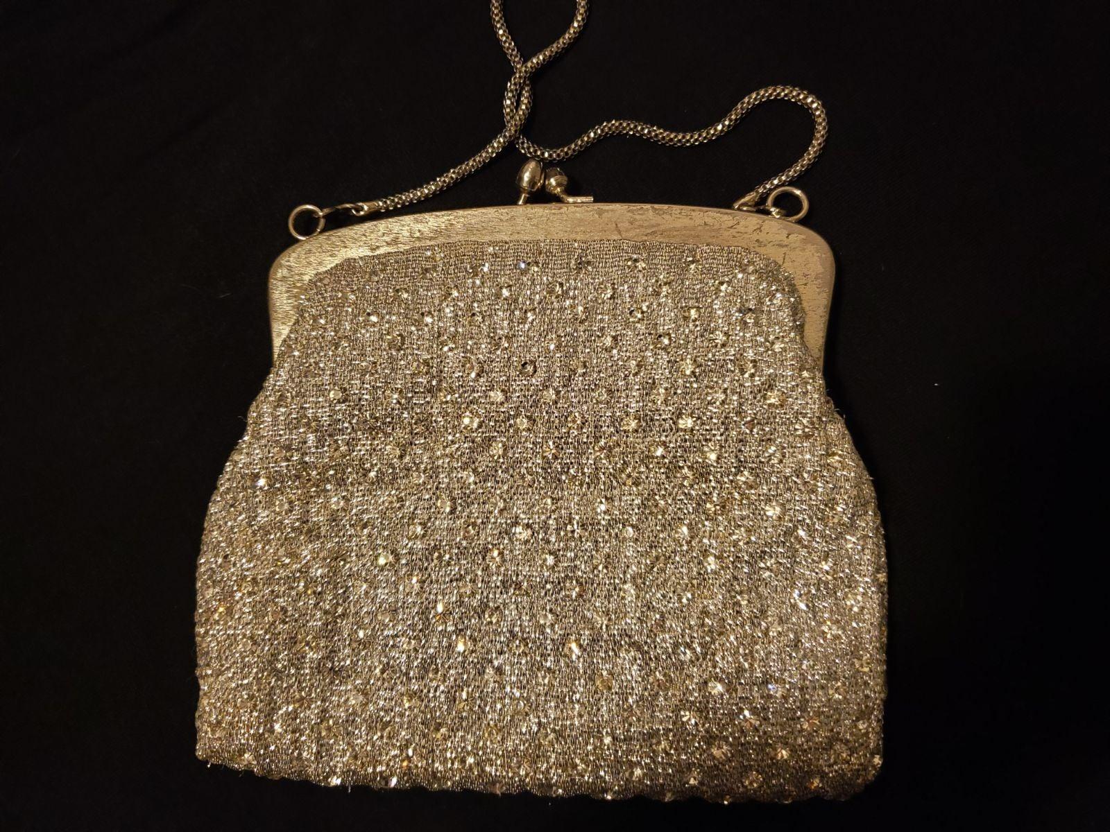 Vintage Evening Bag Silver