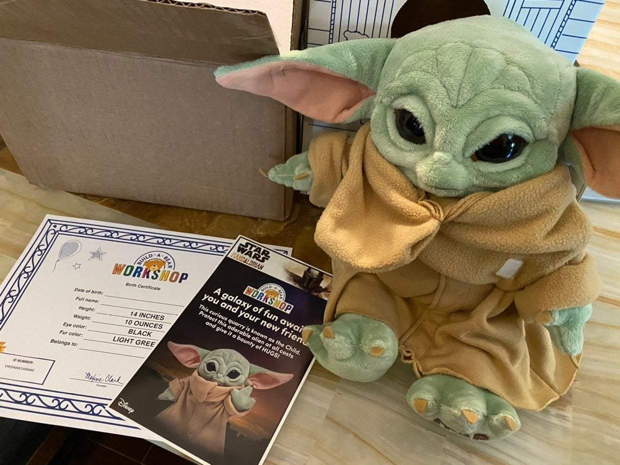 Build A Bear The Mandalorian Baby Yoda