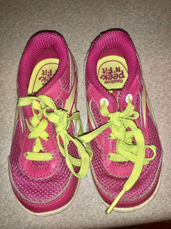 Reebok pink sz toddler 5 lace up