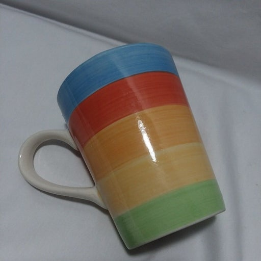 Rainbow Cup Mug Gibson 12 oz Gay Pride